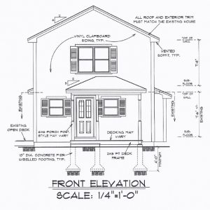 Design/Build - Front Elevation