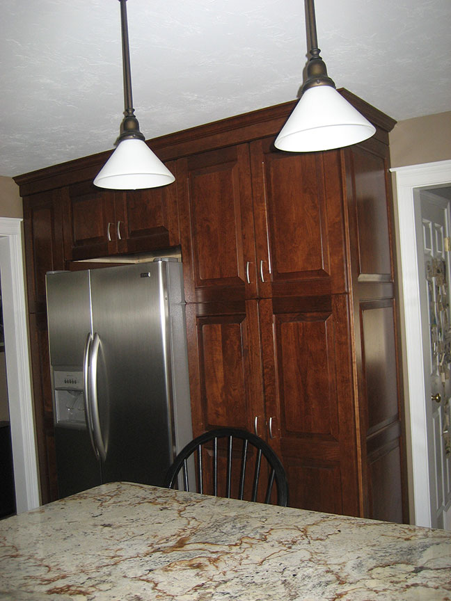 Kitchen Remodel - Built In Cabinets