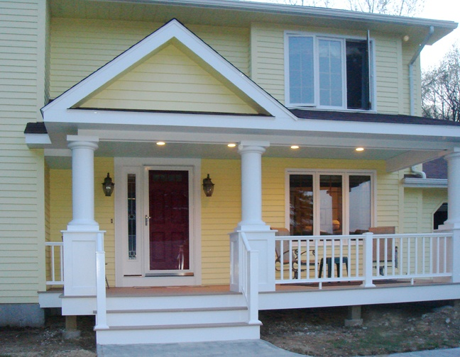 Porches and decks remodeling ideas morrison building for Porch renovation ideas